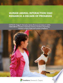 Human Animal Interaction Hai Research A Decade Of Progress Book PDF