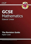 GCSE Mathematics, Edexcel Linear
