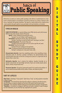 Public Speaking (Blokehead Easy Study Guide)