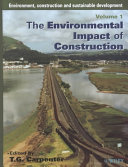 Environment, Construction and Sustainable Development: Sustainable civil engineering