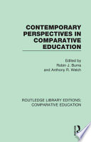 Contemporary Perspectives in Comparative Education