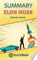 Summary of Elon Musk by Ashlee Vance