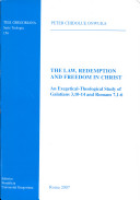 Pdf The Law, Redemption and Freedom in Christ