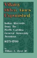 Villainy Often Goes Unpunished Book