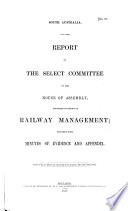 Proceedings of the Parliament of South Australia