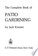 The Complete Book of Patio Gardening
