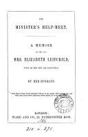 The minister s help meet  a memoir of E  Leifchild