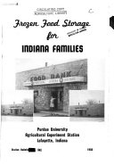 Frozen Food Storage for Indiana Families
