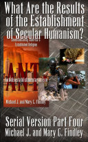 Pdf What Are the Results of the Establishment of Secular Humanism? Telecharger