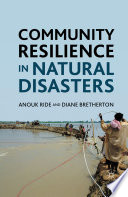 Community Resilience in Natural Disasters