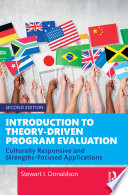 Introduction to Theory Driven Program Evaluation