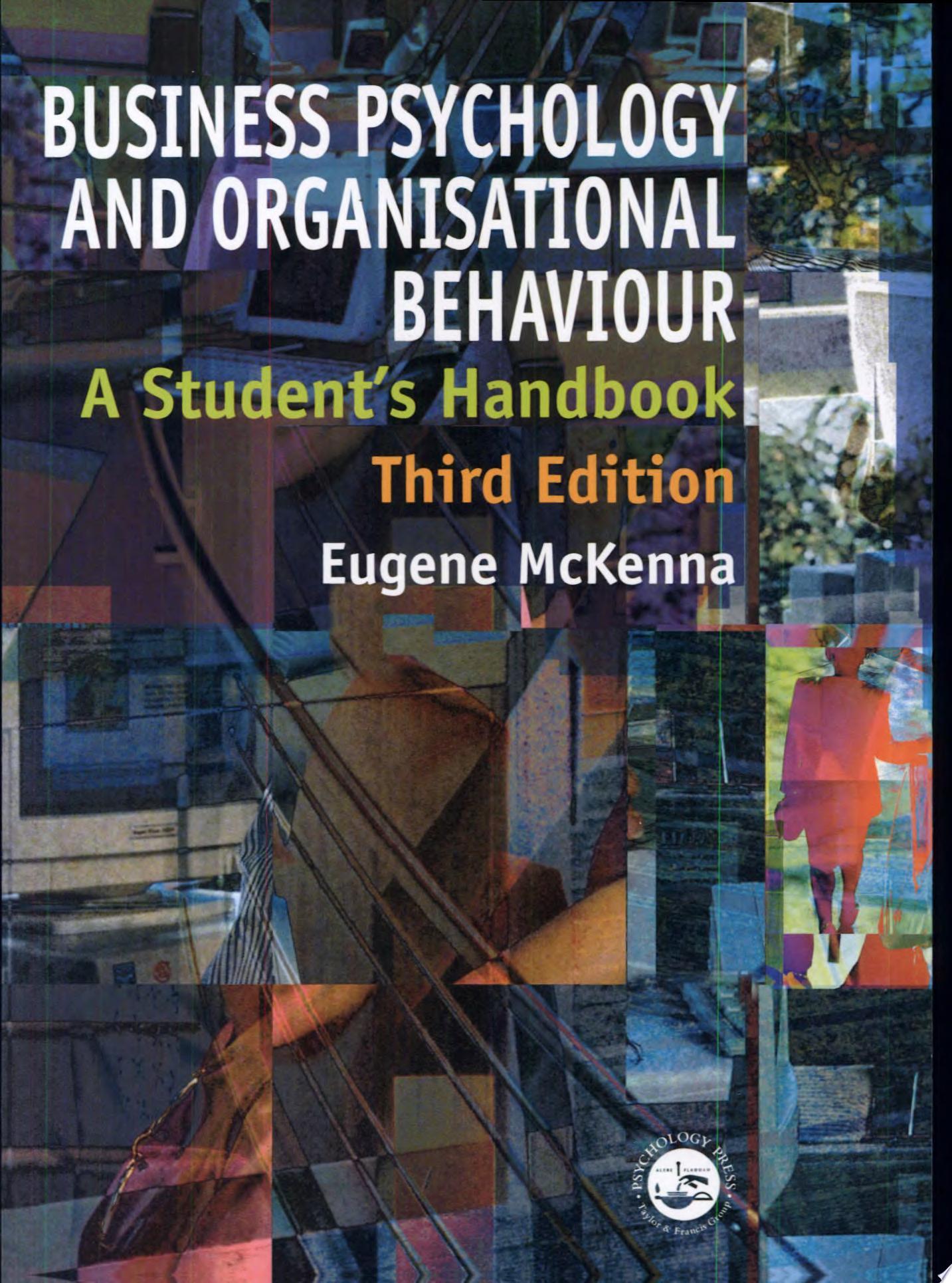 Business Psychology and Organisational Behaviour