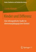 Kinder und Differenz