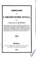 Annuaire de l'Observatoire royal de Bruxelles