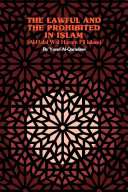 Pdf The Lawful and the Prohibited in Islam (Al-Halal Wal Haram Fil Islam) Telecharger