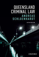 Cover of Queensland Criminal Law