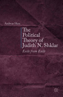 The Political Theory of Judith N. Shklar