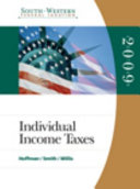 South-Western Federal Taxation 2009: Individual Income Taxes