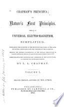 Chapman s Principia  Or  Nature s First Principles