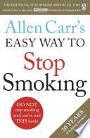 Allen Carr S Easy Way To Stop Smoking Book