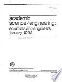 Academic Science Engineering Scientists And Engineers Book PDF