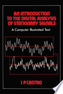 An Introduction to the Digital Analysis of Stationary Signals