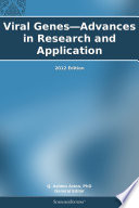 Viral Genes Advances In Research And Application 2012 Edition Book PDF