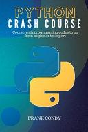 Python Crash Course Book