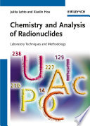 Chemistry and Analysis of Radionuclides Book
