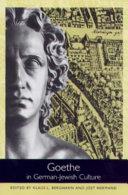 Goethe in German-Jewish Culture