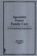 Specialist Foster Family Care