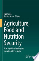 Agriculture  Food and Nutrition Security Book
