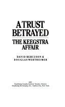 Pdf A Trust Betrayed