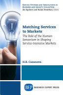 Matching Services to Markets Pdf/ePub eBook