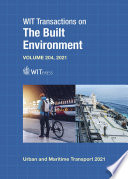 Urban and Maritime Transport XXVII