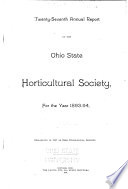 Annual Report of the Ohio State Horticultural Society