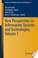 New Perspectives in Information Systems and Technologies Book