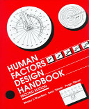 Human Factors Design Handbook Book PDF