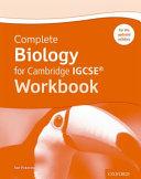 Complete Biology for Cambridge IGCSE® Workbook