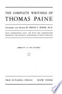 The Complete Writings of Thomas Paine Book