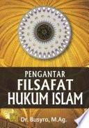 Pengantar Filsafat Hukum Islam