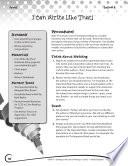Writing Lesson Level 3 Author Mentors Book