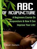 ABC Of Acupuncture