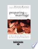 Preparing for Marriage (Large Print 16pt)