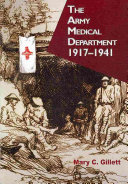 The Army Medical Department 1917 1941