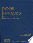 Water Dynamics