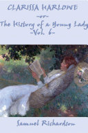 Clarissa Harlowe, or The History of a Young Lady Book