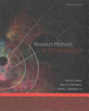 Research Methods in Psychology   Research Methods Laboratory Manual for Psychology