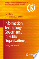 Information Technology Governance in Public Organizations Book