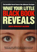 What Your Little Black Book Reveals
